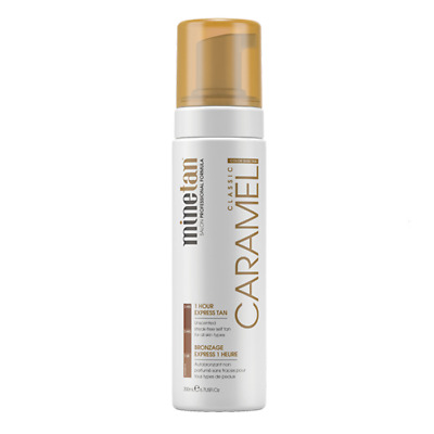 Mine Tan Classic Caramel 1hr Express Self Tan Foam - 200ml