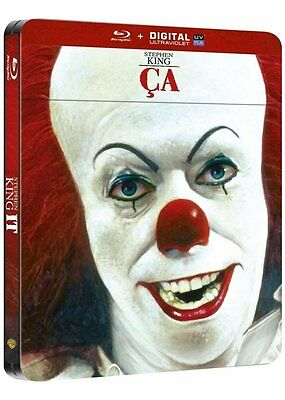 Stephen King's It - France Exclusive édition limitée Steelbook Blu-Ray NEUF