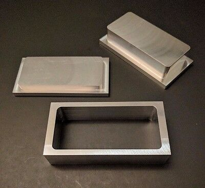 "New Rosin Tech Pre Press Mold 2"" x 4"" Flower Pressing"