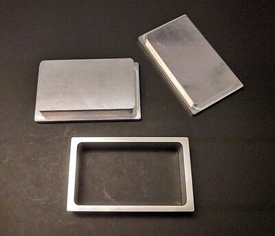 "New Rosin Tech Pre Press Mold 3"" x 5"" Flower Pressing"
