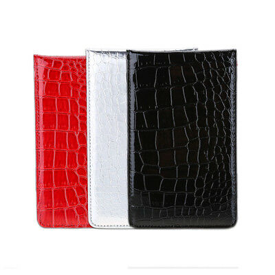 Deluxe PU Golf Score Counter Keeper Card Holder Gift Sports Tool with Pencil