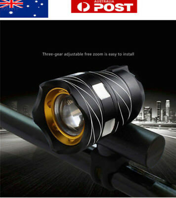 AU 5000LM USB Rechargeable T6 LED Bicycle Bike Light Front Cycle Light Head lamp