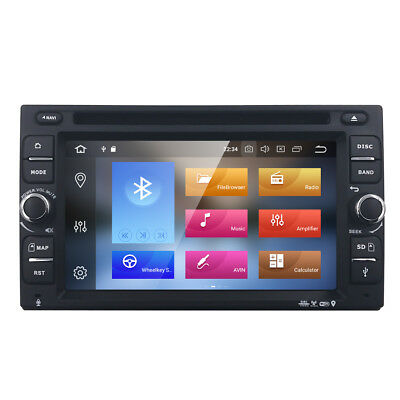 Android 8.0 OS 4GB RAM Universal 2Din in Dash Car DVD Player Stereo Radio GPS
