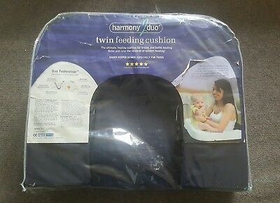 Harmony Duo Twin Tandem Feeding Pillow Great Condition