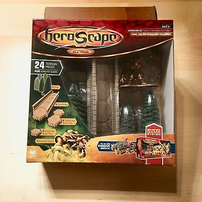 HEROSCAPE Expansion Set ROAD TO THE FORGOTTEN FOREST NIB