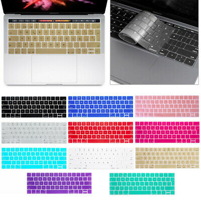 "Silicone Laptop Keyboard Cover Skin for Macbook Pro 13/15"" with Touch Bar (2016)"