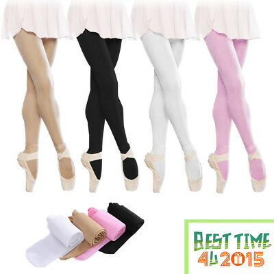 Children's Ballet Dance Tights Footed Seamless Girls Daily Outfits Casual Wear