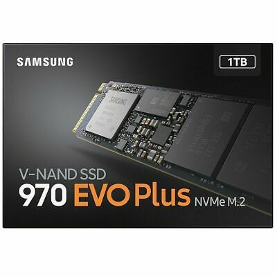 1TB SAMSUNG 970 EVO Internal Solid State Drive SSD NVMe M.2 PCIe 3.0 Genuine New