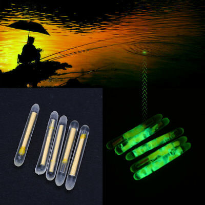 50Pcs Angeln Fluorescent Light Stick Light Night Float Dark Glow Stick-Set
