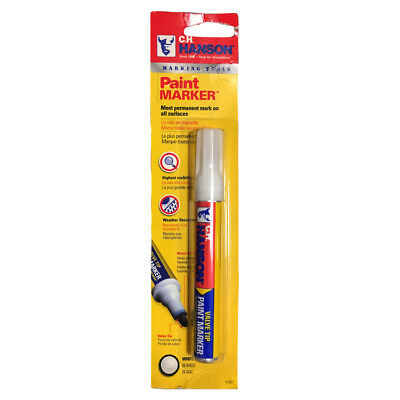 CH Hanson 10361 White Paint Marker - 1 Count