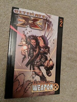 Ultimate X-Men Vol. 2: Return to Weapon X: Graphic novel  2005 Mint Con