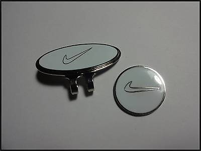 *NEW* Nike Hat Clip & Ball Marker - White