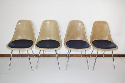 4 Chaises DSX Charles & Ray Eames pour Herman Miller