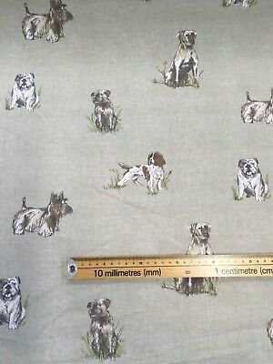 Fryetts Pooch cotton print fabric