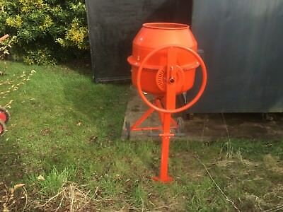 Used once electric Cement mixer