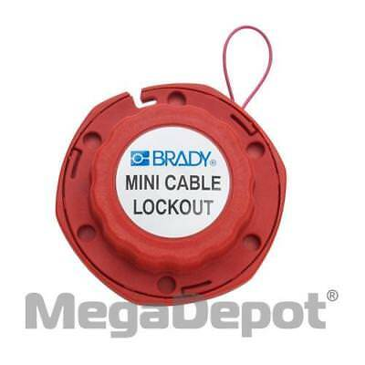 Brady Corporation 50940, Mini Cable Lockout with Metal Cable