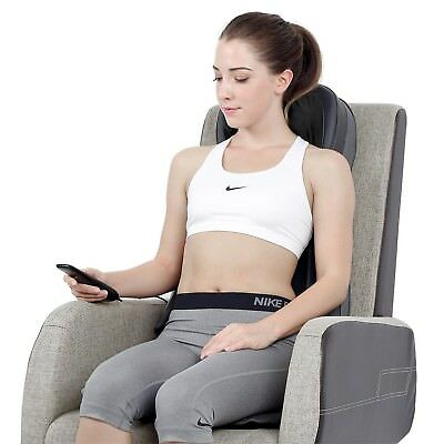 Naipo Back Massager Shiatsu Massage Seat Cushion for Full Back and Neck