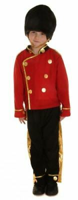 BOYS BUSBY ROYAL GUARD OUTFIT PARTY FANCY DRESS WORLD BOOK DAY COSTUME 4-12