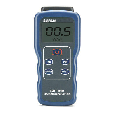 Digital Electromagnetic Field Detector - 0.1 To 4000 Milligauss,  0.01 To 400