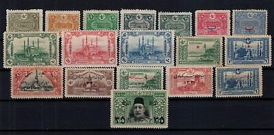 P61734/ Turquie Turkey / Lot 1913 - 1915 Neuf * / Mint Mh 114 €