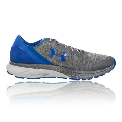 Under Armour Mens Charged Escape Running Shoes Trainers Sneakers Blue Grey