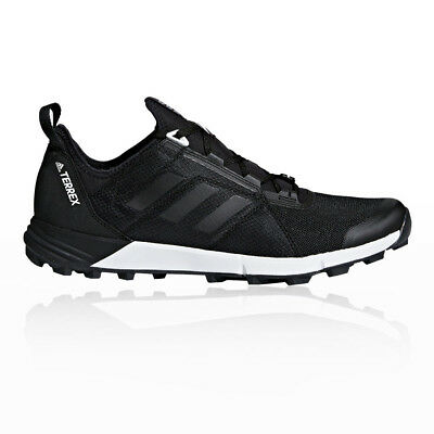 e6593bb1280 adidas Mens Terrex Agravic Speed Trail Running Shoes Trainers Sneakers Black