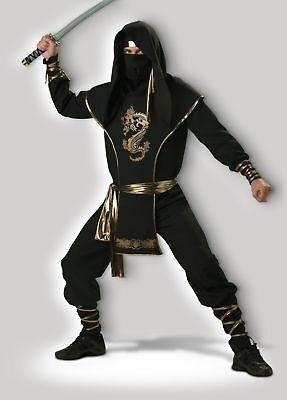 In Character Adult Ninja Warrior Costume Large