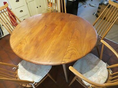Ercol Kitchen Table with chairs