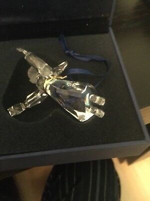 Swarovski Crystal Christmas 2006 A.E. Angel Ornament 863449