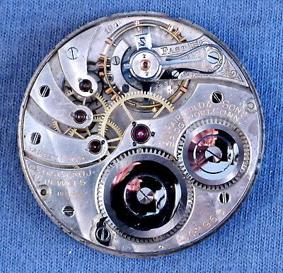 16s Longines P.L Bridgeport CT 17j Pocket Watch Movement #2771966 - 1912, HC