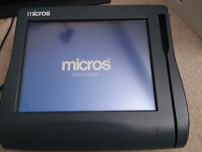 MICROS WORKSTATION 4 SYSTEM UNIT POS TERMINAL Working