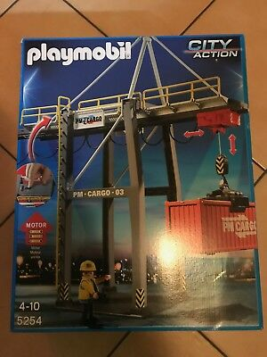 Playmobil 5254 - elektronischer Verladeterminal - Hafen City Action