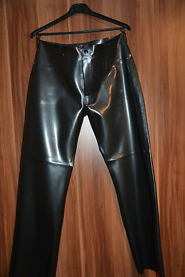 Latex Jeans LIBIDEX NEU! XL Metallic Pewter