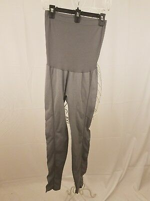 Maternity Pants - Emma's Expressions Maternity Yoga Lounge Leggings Gray One Sz