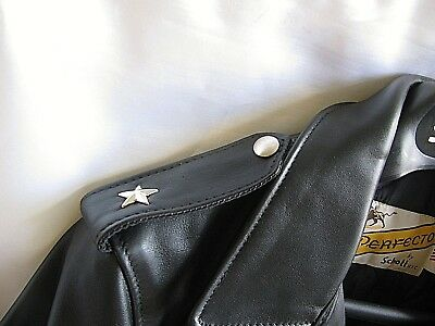Schott Perfecto One Star Motorcycle Jacket Replacement only Stars 626, 618, 118
