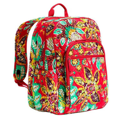 Vera Bradley Campus Tech Backpack, Rumba, Authentic, NEW