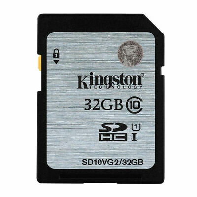 4GB 8GB 16GB 32GB Kingston Class4 10 SD SDHC Memory Card for Camera GPS Tablet