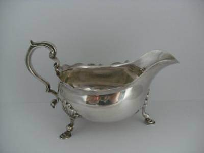 Beautiful Sterling Silver SAUCE BOAT London 1895