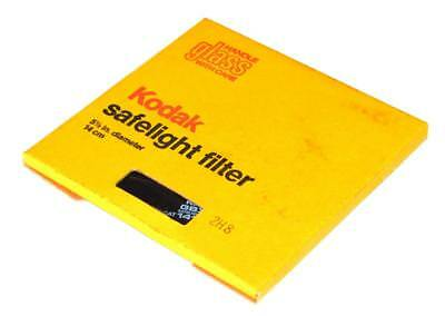 "New Kodak Gbx-2 Safelight Filter 1416627 5-1/2"" Diameter"