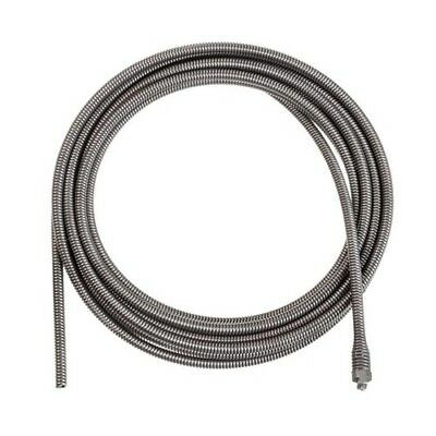 Inner Core Drain Cleaning Cable Male Coupling Replacement Plumbing 3/8in X 25 Ft
