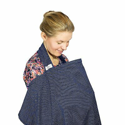 Nursing Cover Breastfeeding Scarf Loving Mum – 75 x 110 cm – 100% Cotton