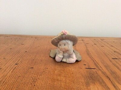 Enesco Kim Anderson Porcelain Figurine You Ought To Be In Pictures. #201669