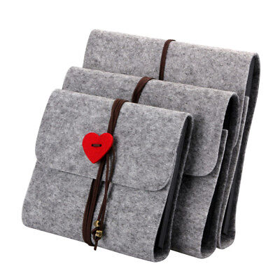 HK- Love Heart Felt Cover DIY Fashion Album Photo Case Home Decor Birthday Gift