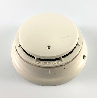 Simplex 4098-9601 Fire Alarm Photoelectric Smoke Detector With Base 4098-9788