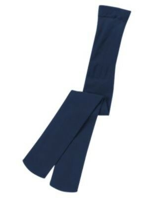 Gymboree Everyday Basics Navy Solid Basic Nylon Tights 5 6 Nwt