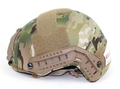 Ops Core FAST Ballistic High Cut Multicam Helmet VAS Shroud Small/Medium New
