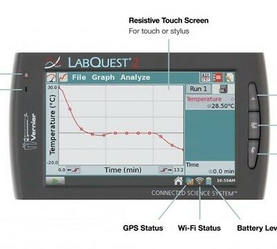 Vernier Labquest 2 Wireless Data Collection Unit NEW (15 % Off Retail)