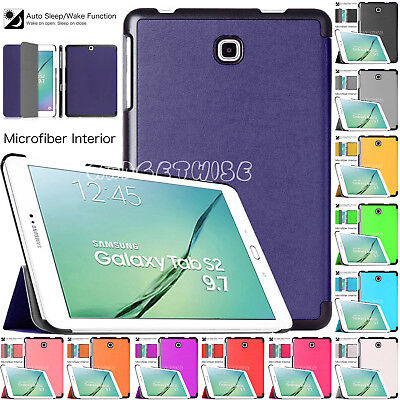"Magnetic Leather Smart Stand Flip Case Cover For Samsung Galaxy Tab A 9.7"" T550"