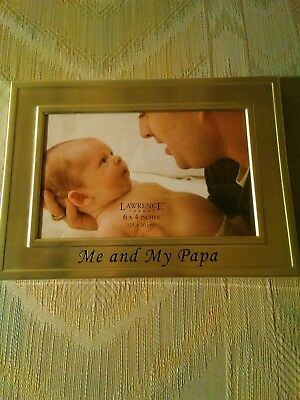 Lawrence Frames Big Brother Silver Plated 6x4 Picture Frame Me And