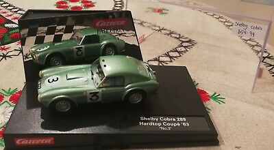 carrera evolution shelby cobra 289 - scalextric compatiable
